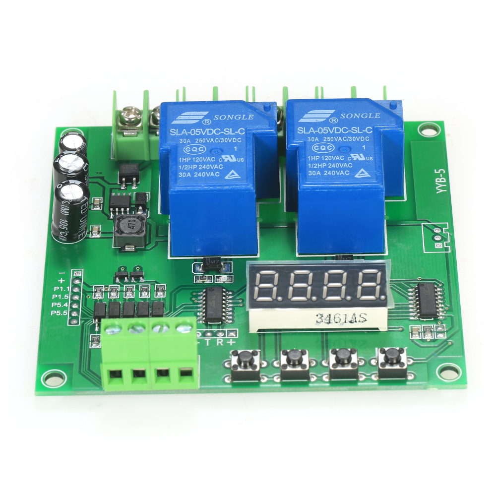 цена на 12V/24V Motor Module 2-Channel Motor Driver Shield Board 30A LED Relay Module for Arduino Raspberry Pi