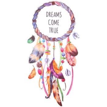 3D DIY Pre-sale Wholesale Iron On Transfer Feather Dream Catcher Logo Patch Cool Badges For Clothes Hippie Heat Transfer T-shirt