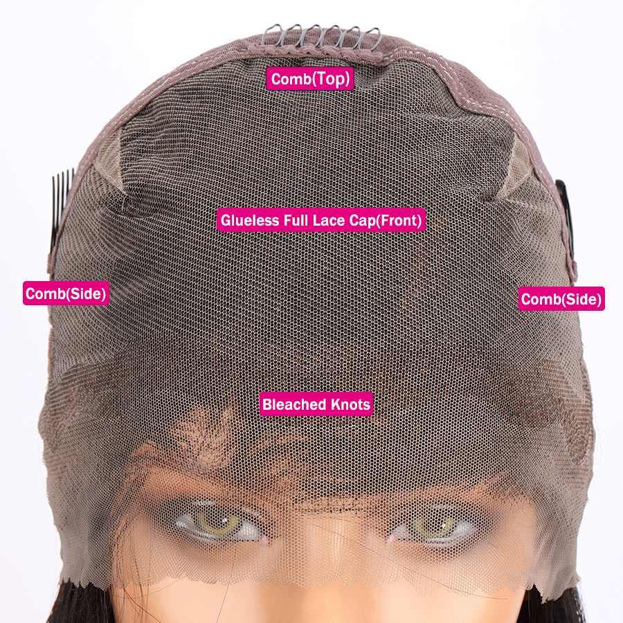 Парики из натуральных волос на шнурках Elva бразильские человеческие волосы кудрявые парики remy волосы полные парики шнурка фронтальные предварительно сорванные Детские волосы боб парики