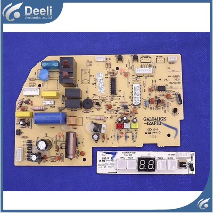ФОТО 95% new good working for Galanz air conditioner motherboard GAL0411GK-12APH1 RJ0302 display board 2pcs/set