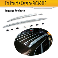 For Cayenne Car Top Luggage Carrier Rail Bar Roof Rack Rail Bar For Porsche Cayenne 2003