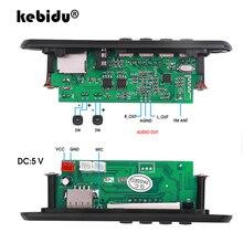 Bluetooth5.0 MP3 çözme devre kartı modülü kablosuz araç USB MP3 çalar TF kart yuvası/USB/FM/renkli ekran uzak çözme devre kartı modülü
