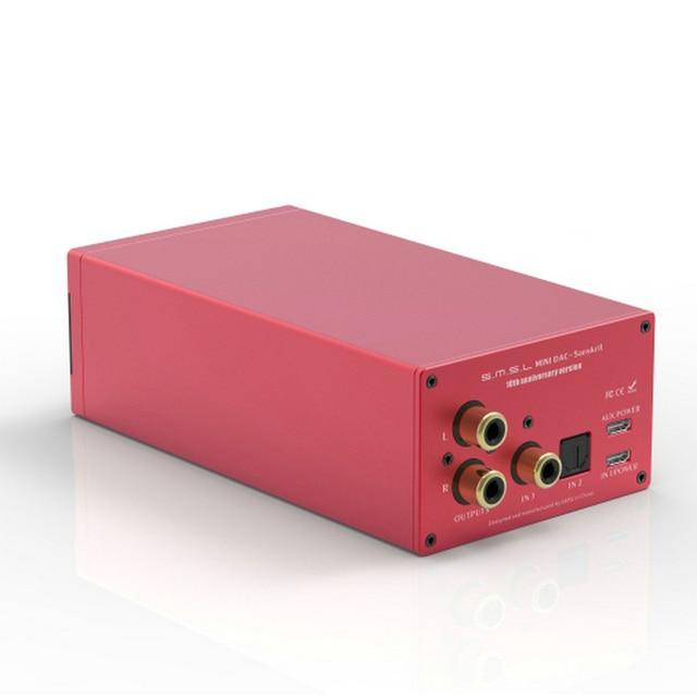 SMSL Sanskrit 10th SK10 Hifi Digital Decoder AK4490 PCM384 DSD256 DAC Pre-out Accelerometer Support OTG with Remote Control 6
