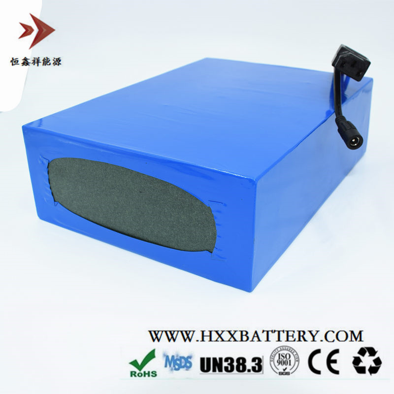HXX 48V 25AH 1200W Battery Pack Lithium Battery Pack Ebike Sightseeing Car 48V Battery BMS Protection Deep Cycle Wholesale Price free customs duty 1000w 48v battery pack 48v 24ah lithium battery 48v ebike battery with 30a bms use samsung 3000mah cell