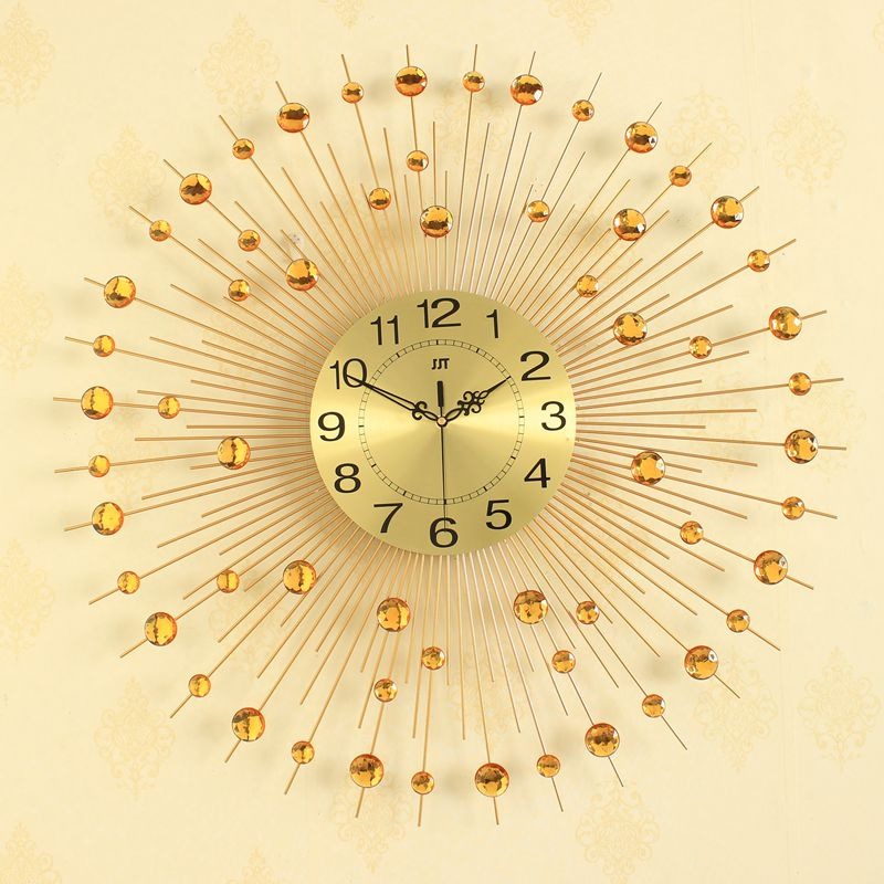 3D Big Wall Clock Modern Design Home Decor Wall Watches Living Room ...