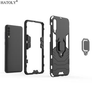 Image 5 - For Cover Samsung Galaxy A50 Case Shockproof Armor Case For Samsung A30 A40 A60 A70 A80 Phone Cover For Samsung A7 A8 2018 Case