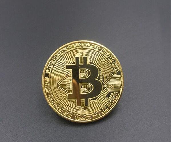 100 unids/lote Bitcoin moneda coleccionable regalo Casascius Bit Coin BTC Colección de Arte de monedas conmemorativas materiales al por mayor-in Monedas no convertibles from Hogar y Mascotas    1