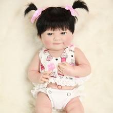 """Muñeca Bebe reborn 14 """"35 cm vinilo de silicona completo Reborn muñecas para niñas regalo de Navidad l. o l muñeca sorpresas NPK muñeca"""