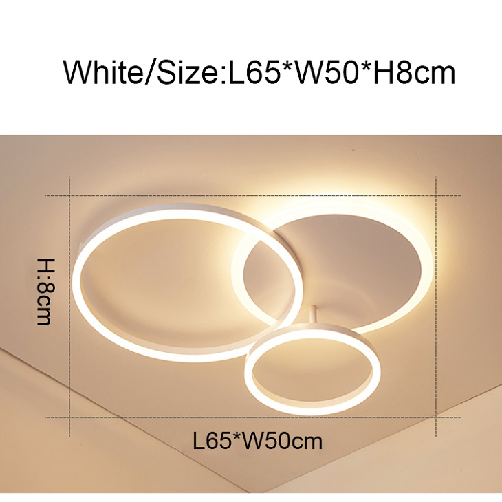 3 Rings White