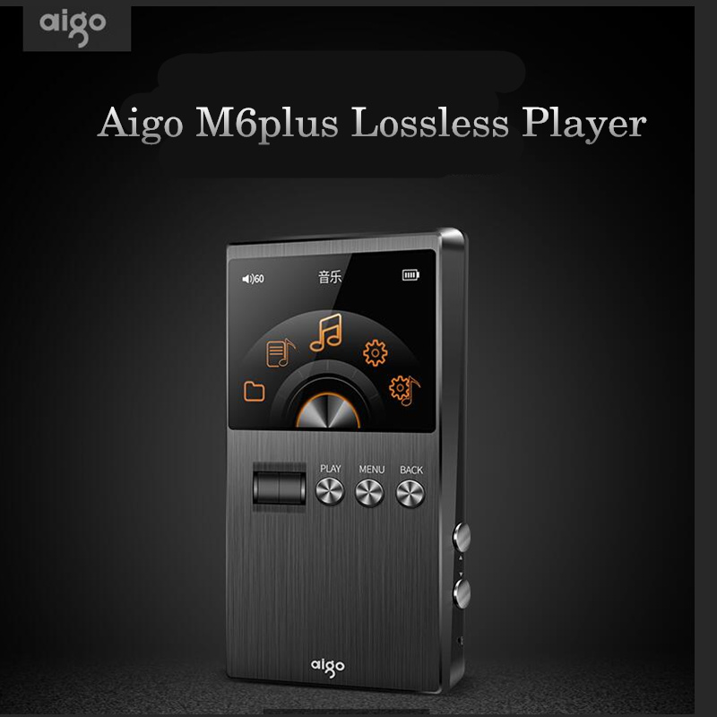 AIGO M6plus HiFi Music Player Loseless Audiophile Master Sound DSD Professional Portable USB Loseless MP3 Player 128G Support musiland 01us mark2 usb hifi external sound card hardware decoding dsd support 32bit 384khz