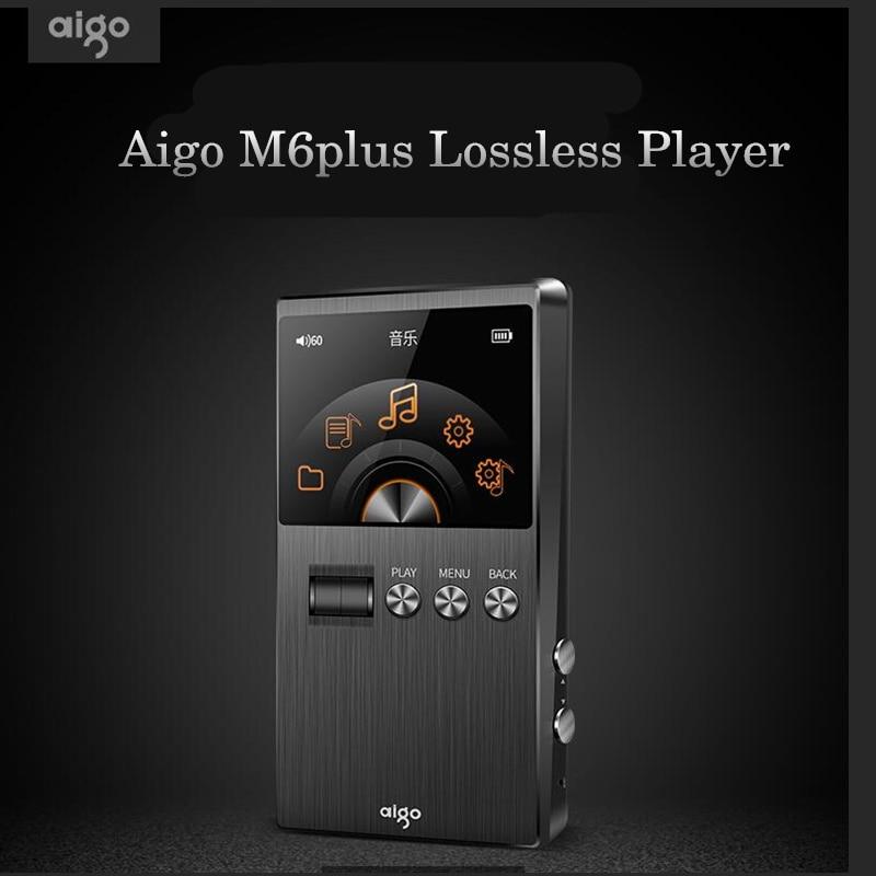 AIGO M6plus HiFi Music Player Loseless Audiophile Master Sound DSD Professional Portable USB Loseless MP3 Player 128G Support