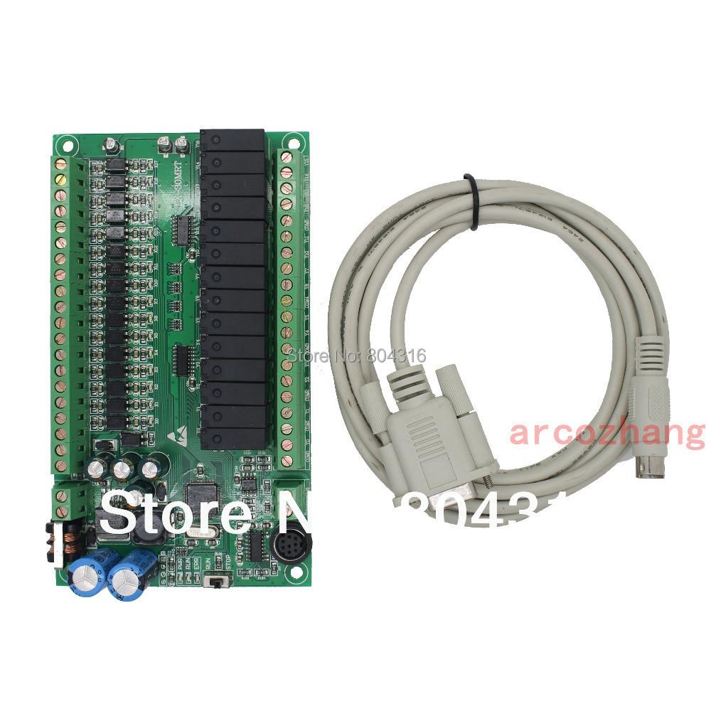 все цены на FX1S-30MR EX1S 30MR plc controller 16 input/14 output with Modbus RS485 plc controller automation controls plc system онлайн