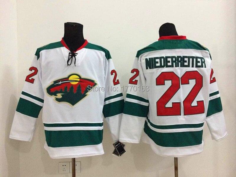 buy popular c19fc ecc54 Nino Niederreiter Jersey #22 Minnesota Wild Jerseys red home ...