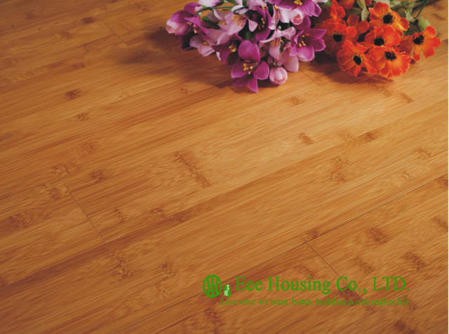Eco Friendly Carbonized Indoor Bamboo Flooring With Semi Matt