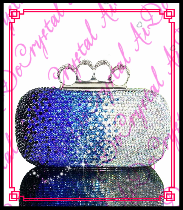 Aidocrystal beautiful ladies handbags nice quality evening font b clutch b font bags with finger buckle