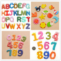 12/22/26/ Digital alphabet animal magnet fridge stickers for Kids Gifts