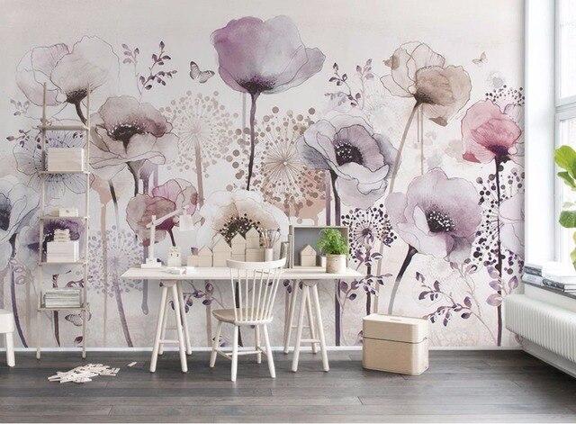 3D Printing Behang Handgeschilderde Behang Voor Muren 3 D, mooie ...