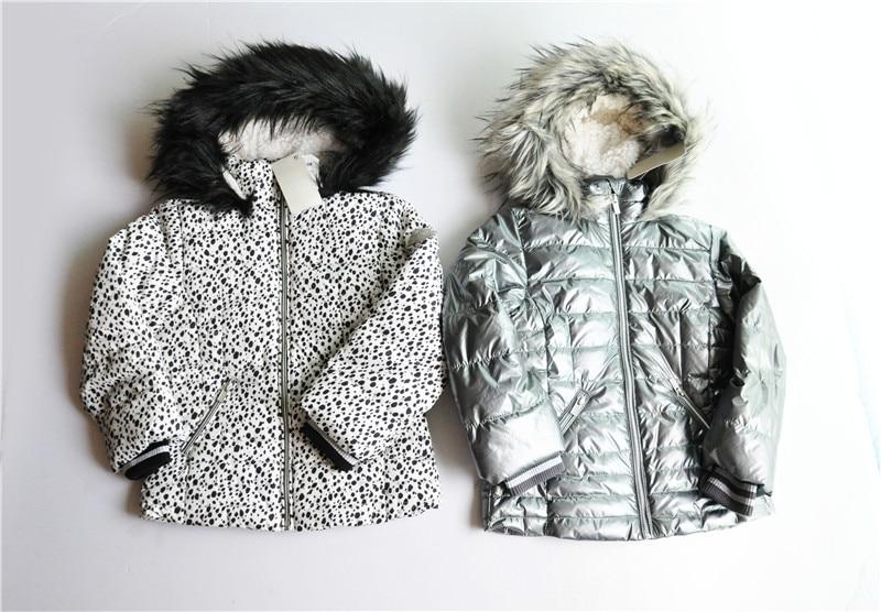 kid's Thick warm hooded jacket Girl's plush coat 2017 new headlight singfire sf 522b cree xm l t61000lm 3 mode cool white headlamp black green 2 x 18650 battery