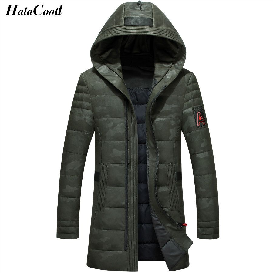 High Quality Thick   Down   Jacket New Long Winter   Down   Parkas Warm Fashion Business White Duck   Down   Jackets   Coats   Brand Clothing
