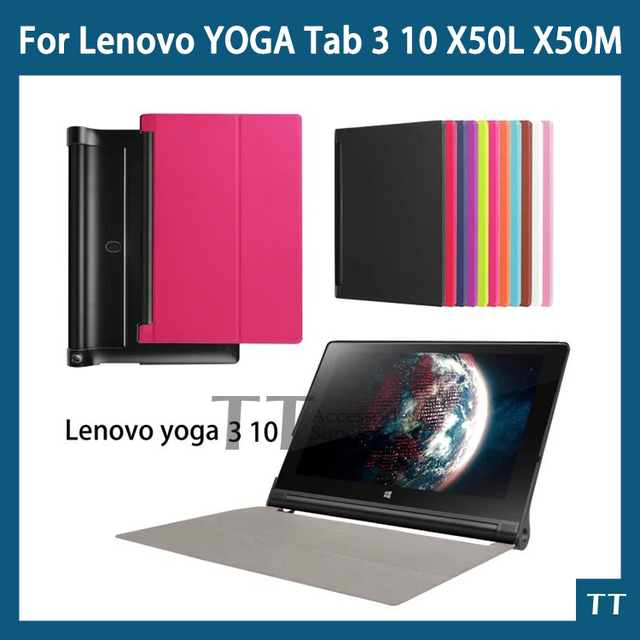 "Luxury Cover for Lenovo yoga tablet 3 Case 10""inch,Flip PU Leather Stand Case for Lenovo yoga tab 3 10 Case+free 2 gifts"