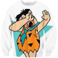 2017 S-5XL Creative 3D Print sweatshirt Men Cartoon Character Sweatshirt Pullover Fashion Men Sportswear Casual Wear Moletom
