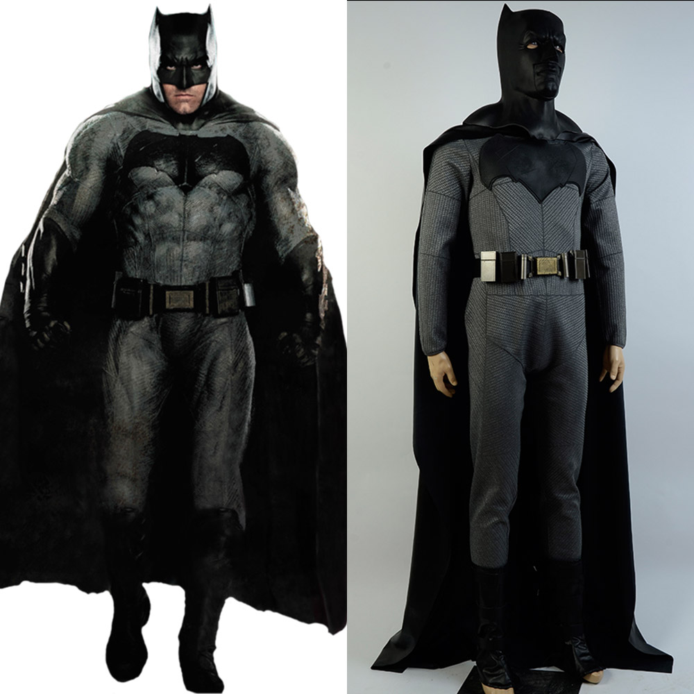 (In Stock)Batman v Superman Dawn of Justice League Bruce Wayne Cosplay Costume Suit Outfit For Adult Men Full Set