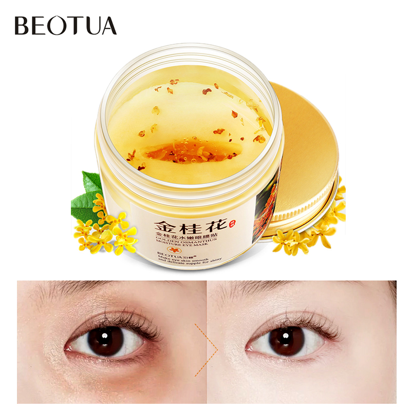 BEOTUA Collagen Eye Mask Dark Circles Anti Wrinkle Whitening Hyaluronic Acid Eye Mask Patches Puffy Eyes Gel Whey Protein Mask in Creams from Beauty Health