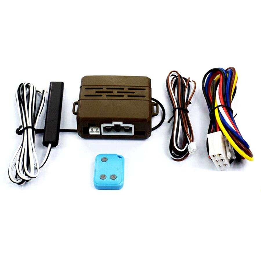 Système d'alarme de voiture système de démarrage à distance + système de test de pompe à huile + pointe de klaxon de voiture