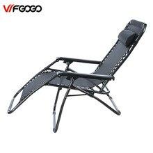 WFGOGO Folding Zero Gravity Reclining Lounge Portable Garden Beach Camping Outdoor Chair Sun Loungers