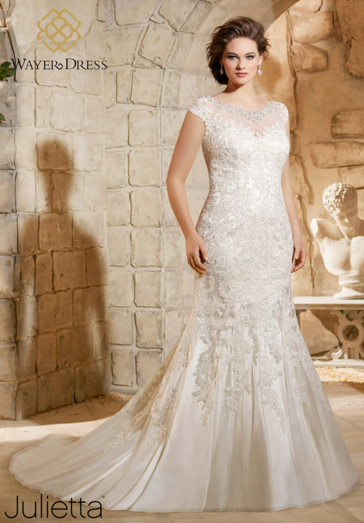 Popular Plus Size Wedding Dresses Mermaid Style-Buy Cheap Plus ...
