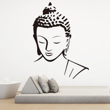 Religion Buddha Pattern Wall Decal Sticker Home Decor Removable Art Vinyl Mural for Living Room Bed room Wall Art decoration(China)