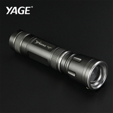 YAGE LED Flashlight Tactical Flash light Cree XPE Zoomable 3 Modes Lanterna LED Torch Flashlights For Bicycle By 18650 Battery