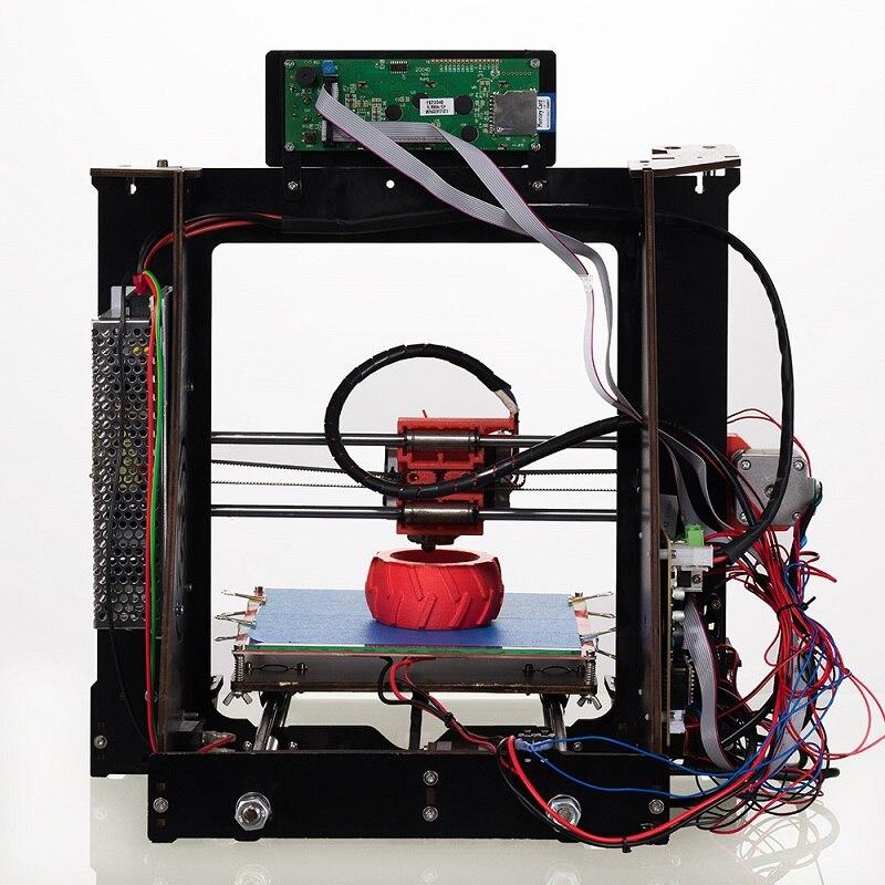 OYfame 3D imprimante Kit grande zone d'impression 200*200*1800mm écran tactile Double extrudeuse cadre en Aluminium 3 d imprimante avec chauffage Be