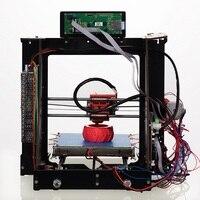 Oyfame 3D принтеры комплект Большая площадь печати 200*200*1800 мм Сенсорный экран двойной экструдер алюминиевая рама 3 d принтер с подогревом быть