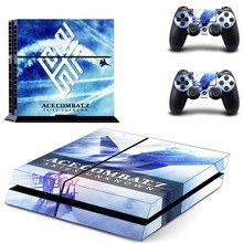 Ace Combat 7 PS4 Skin Console & Controller Decal Stickers for Sony PlayStation 4 Console and Two Controller