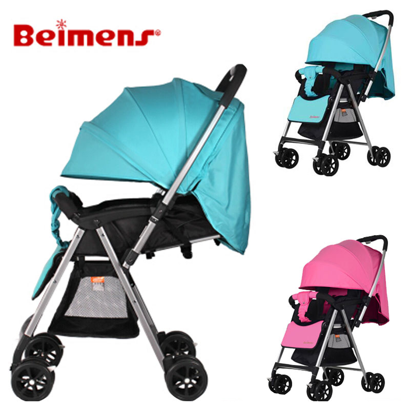 High Landscape Portable Umbrella Car Shock Absorber Baby Stroller Can Lie Removable Baby Carriage Reversable Handle Light PramHigh Landscape Portable Umbrella Car Shock Absorber Baby Stroller Can Lie Removable Baby Carriage Reversable Handle Light Pram
