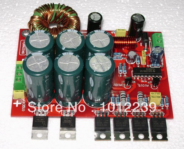Best Offers free shipping 180W DC 12V boost power supply board (DC12V converted to DC +-32V, the applicable car amplifier)