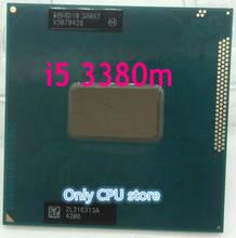 Оригинальный двухъядерный процессор intel Core i5 3380M 2,9 ГГц 3M, SR0X7, десктопный процессор для ноутбука, процессор PGA 988 pin Socket G2