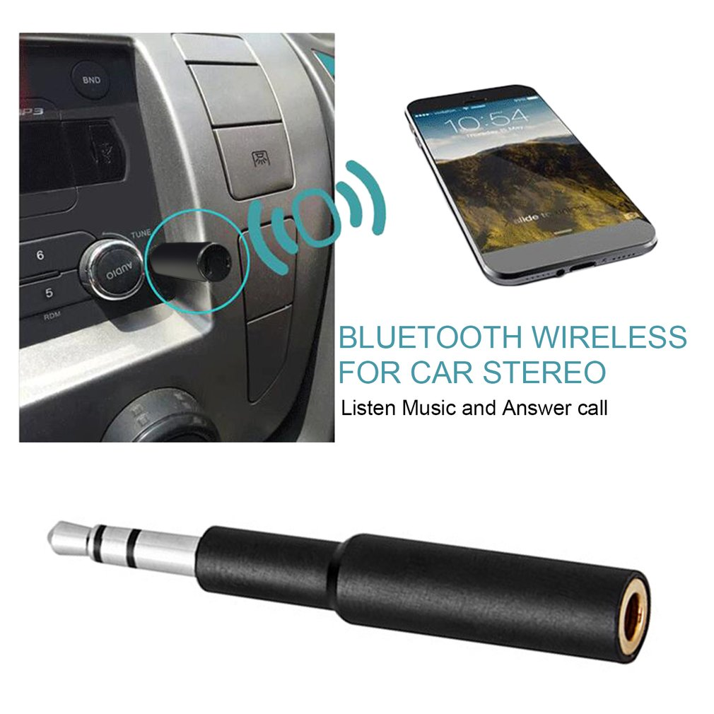 catuo wireless bluetooth receiver with mic aux audio. Black Bedroom Furniture Sets. Home Design Ideas