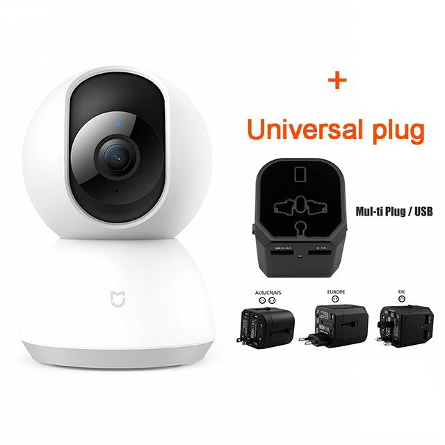US $35 67 33% OFF|Updated Version Xiaomi Mijia 1080P HD Smart IP Camera 360  Angle Video CCTV WiFi Pan tilt Night Webcam Baby Security Mornitor Cam-in