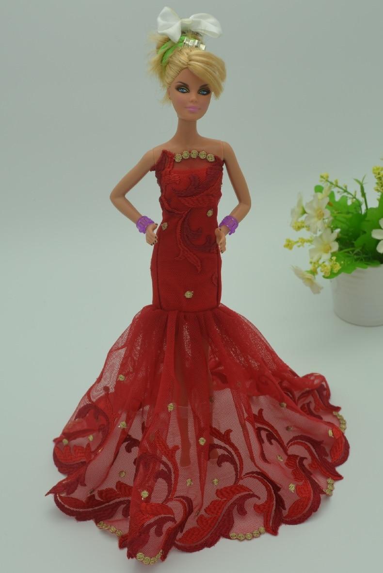 bcecd8b1d2 Lote de para muñeca Barbie original ropa niños ropa puede bastante moda vestidos  vestido ocasional