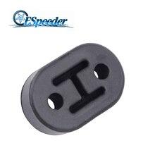 ESPEEDER Universal Exhaust Hanger Bushing Support Car Rubber Tail Pipe Bracket Mount Diameter 11mm