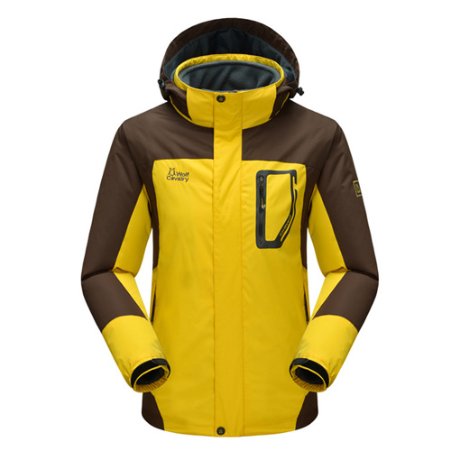 ФОТО 3 in 1 Jacket Outdoor Sport Breathable Quick Dry Waterproof Jacket Camping 3-in-1 outdoor Jacket Male Winter Jackets JK09