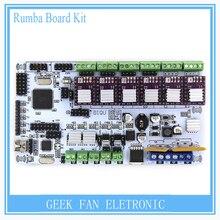 Für 3d-drucker BIQU rumba motherboard MPU/3d-drucker zubehör RUMBA optimierte version control Board mit DRV8825