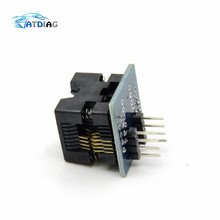 SOIC8 SOP8 to DIP8 EZ Socket Converter Module Programmer Output Power Adapter With 150mil Connector SOIC 8 SOP 8 To DIP 8
