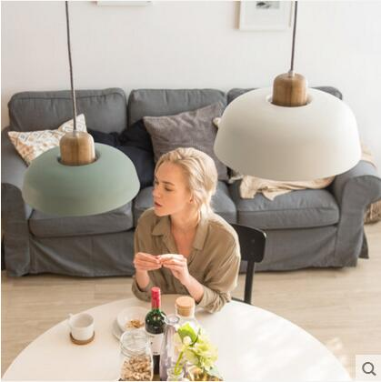 Modern Nordic minimalist creative hanging lights bar lighting living room lamps dining room Fixtures restaurant Pendant Lights nordic post modern denmark designer creative cafe bar pendant lights creative dining room living room indoor lighting fixtures