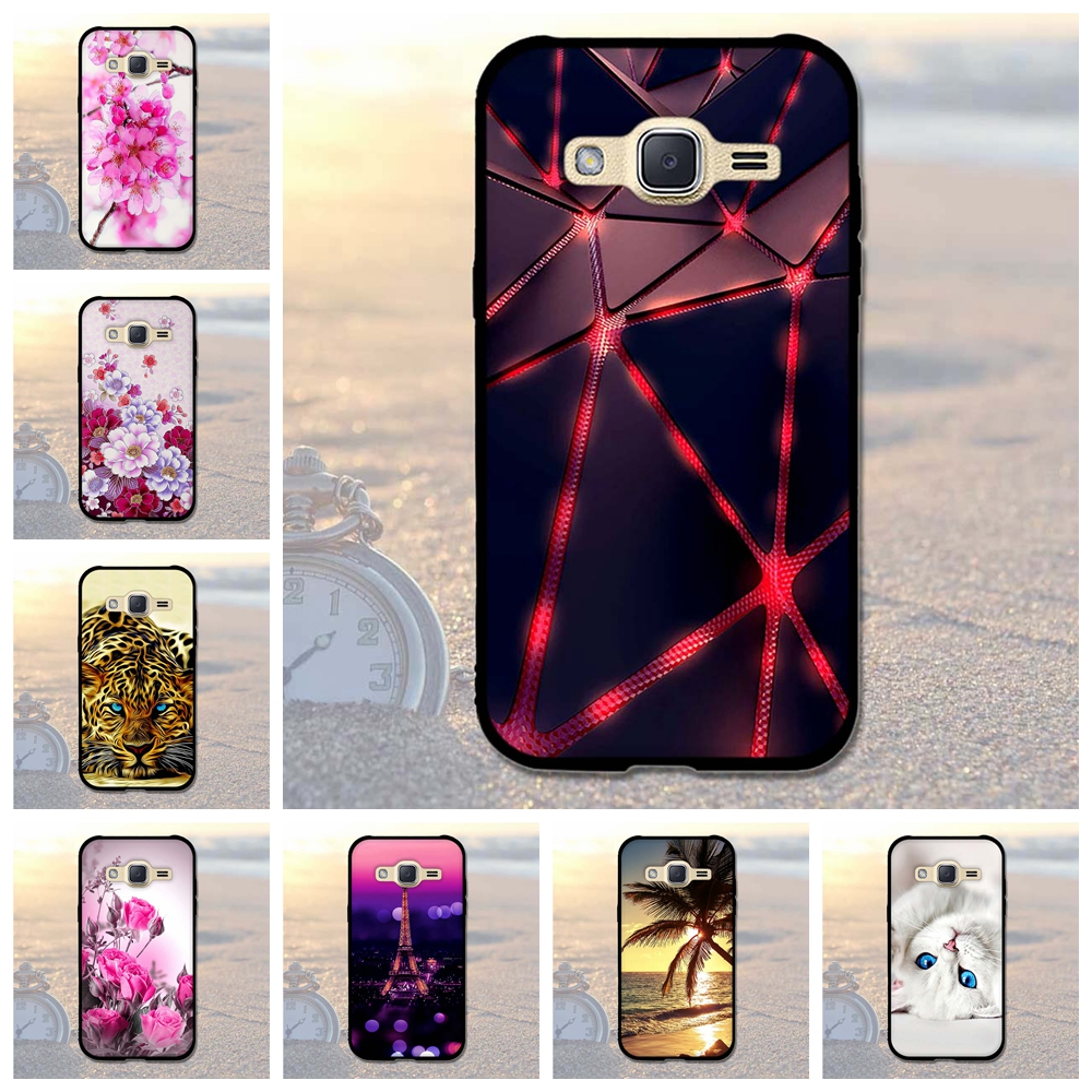 Luxury <font><b>Case</b></font> for <font><b>Samsung</b></font> <font><b>Galaxy</b></font> J2 2015 <font><b>J200</b></font> J200F J200H <font><b>Case</b></font> Soft Silicon Cover for <font><b>Samsung</b></font> J2 2015 Cover Thin TPU Phone <font><b>Case</b></font> image