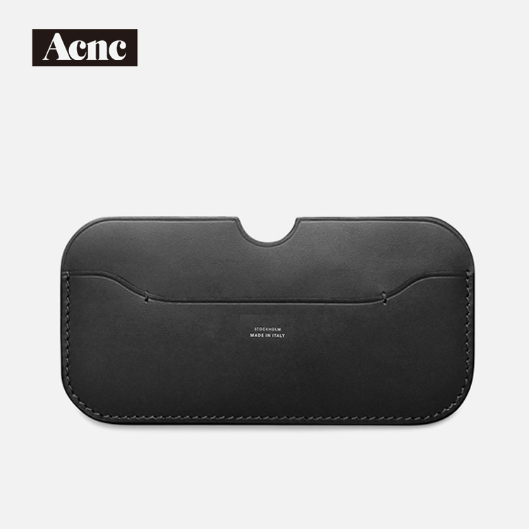 Acne Fashion Genuine Leather Unisex Card Case,real Leather Phone Holders,leather Credit Card,mini Coin Case,free Shipping