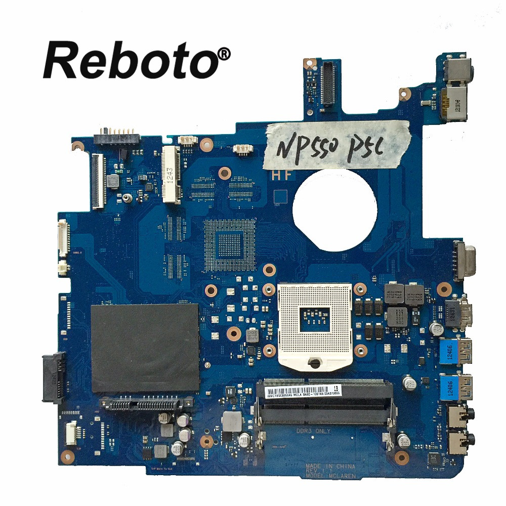 Reboto FOR Samsung NP550P5C 550P5C Laptop Motherboard Mainboard BA92 10614A BA41 01900A HM76 DDR3 100 Tested