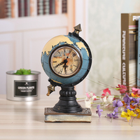 Creative Design Globe Shape Resin Desk Table Crafts For Birthday Gift Handicraft Book House Decor Furnishing